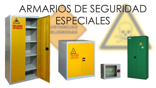 ARMARIOS DE SEGURIDAD ESPECIALES